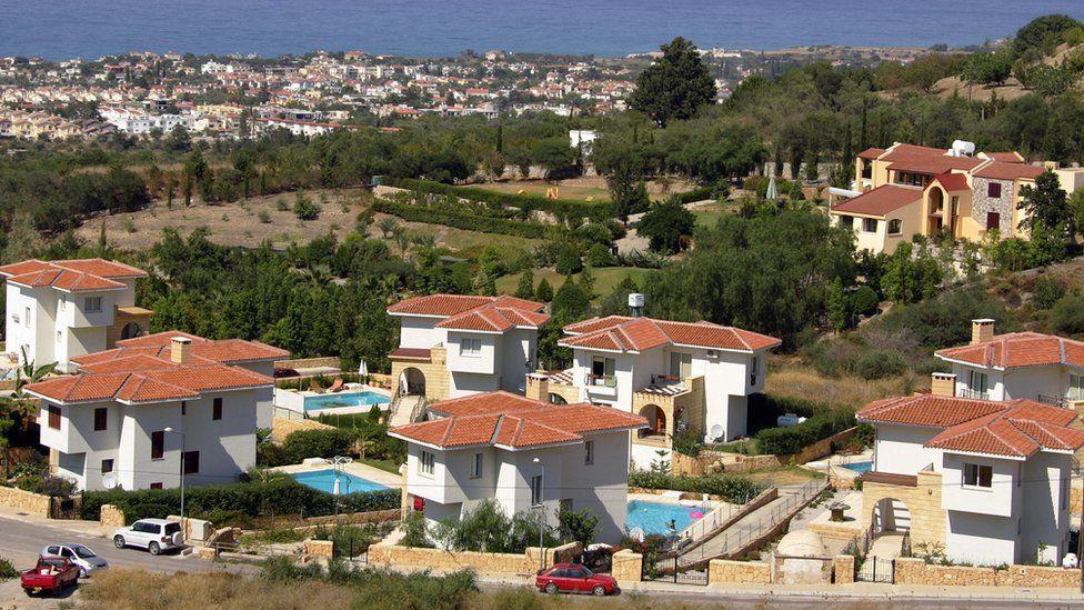 Villas in Kyrenia, northern Cyprus, 17 July 07