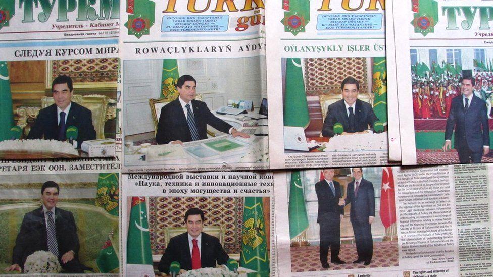 Turkmen newspapers