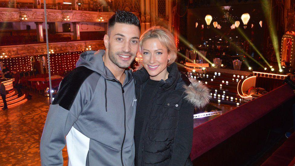 Faye Tozer and Giovanni Pernice at Blackpool Tower Ballroom