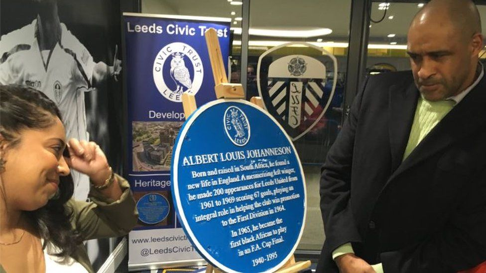 Unveiling of the plaque