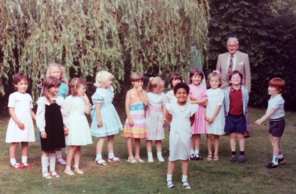 Sara-Jayne and childhood friends