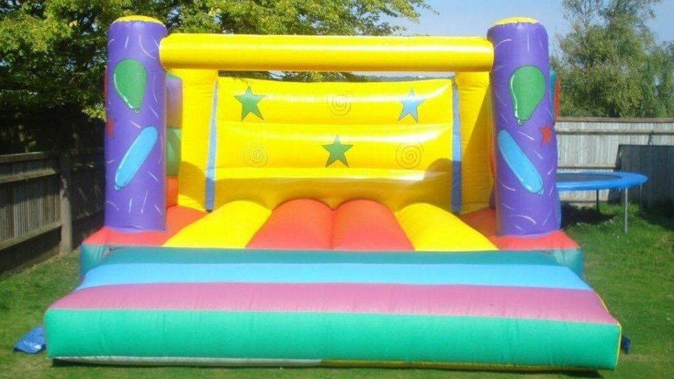 Bouncy castles stolen in 2017 found by Nottinghamshire victims - BBC News