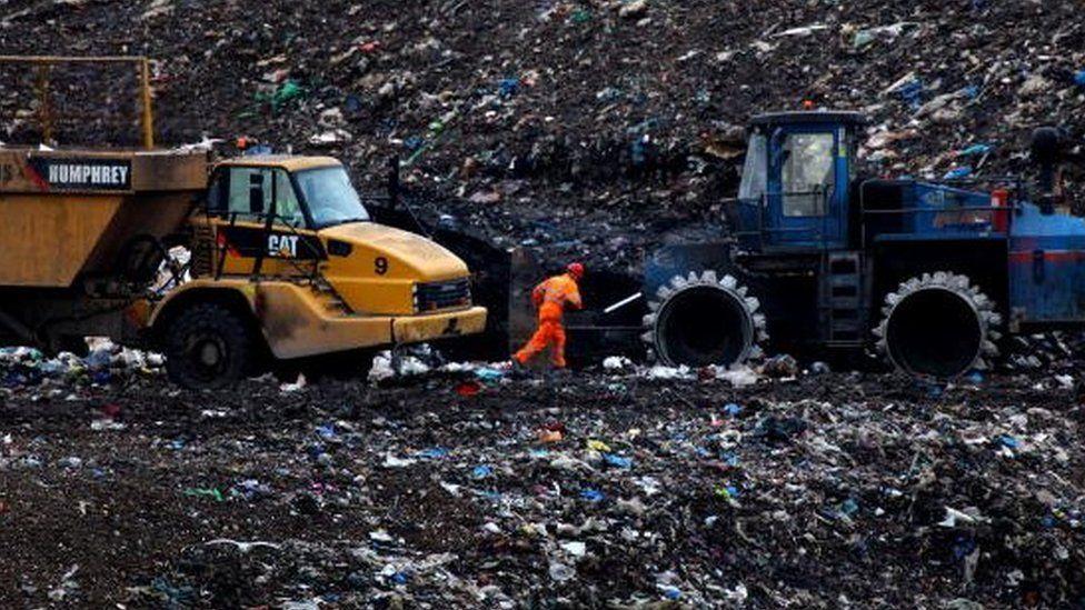 Scottish landfill site