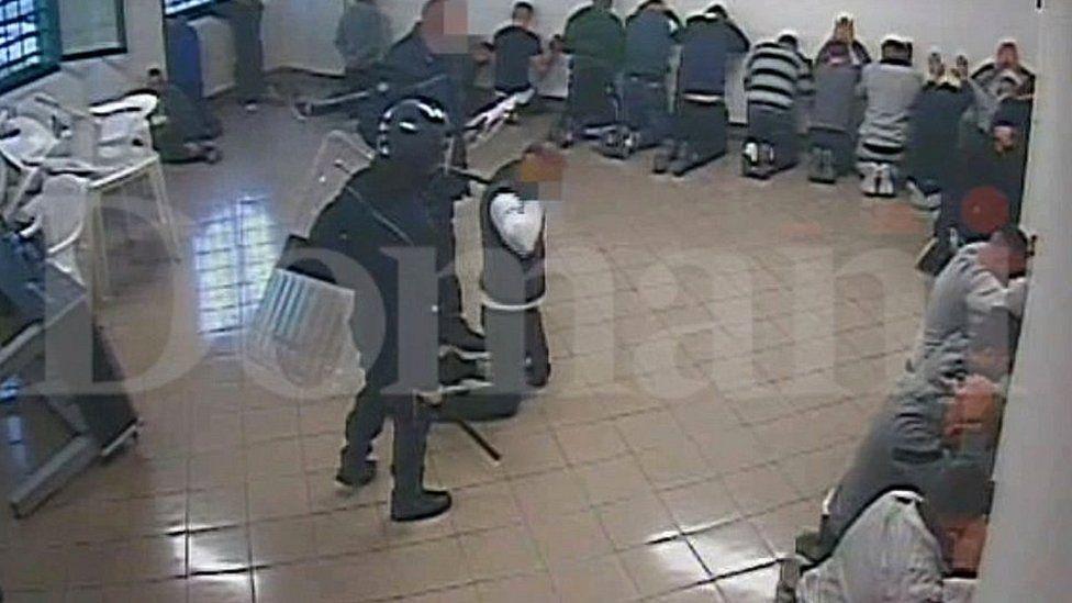 Still from Domani prison video