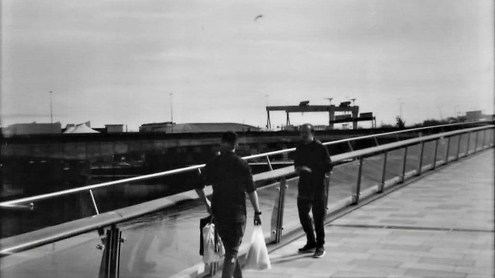 Lagan Weir footbridge