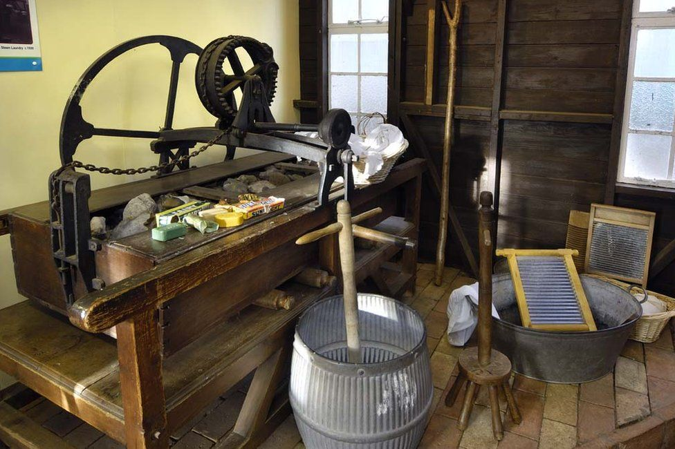 Washing room at Museum of East Anglian Life