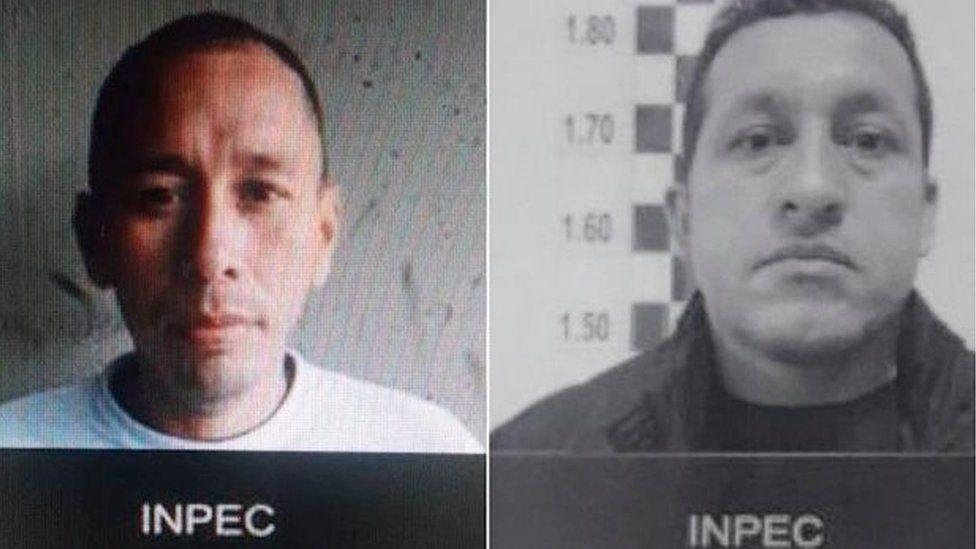 John Alejandro Gutiérrez Rincón and Olmedo Vargas Padilla