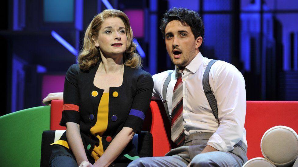 Caroline Sheen and Christopher Jordan Marshall