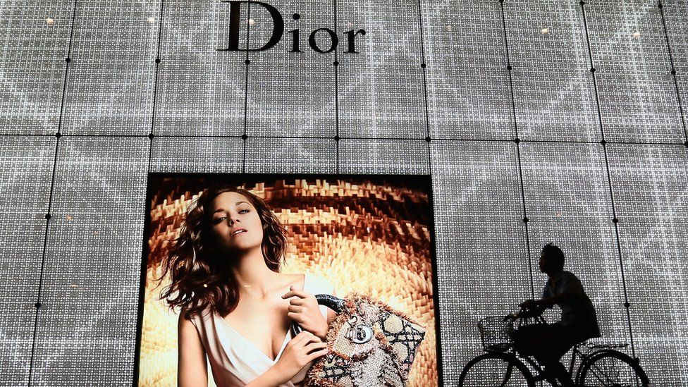 Dior apologises for using China map without Taiwan