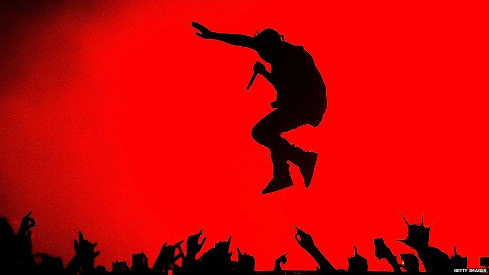 Kanye West on tour