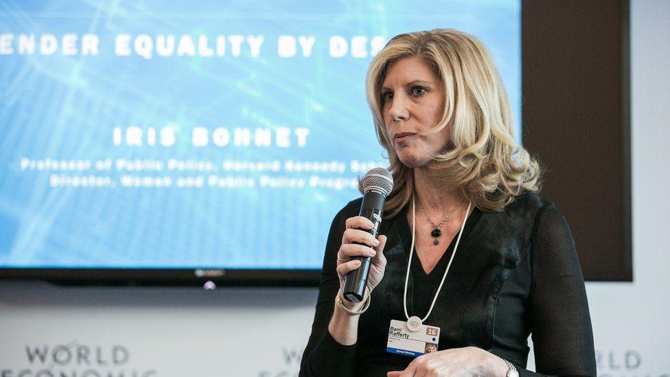 Barri Rafferty at the 2016 annual WEF meeting