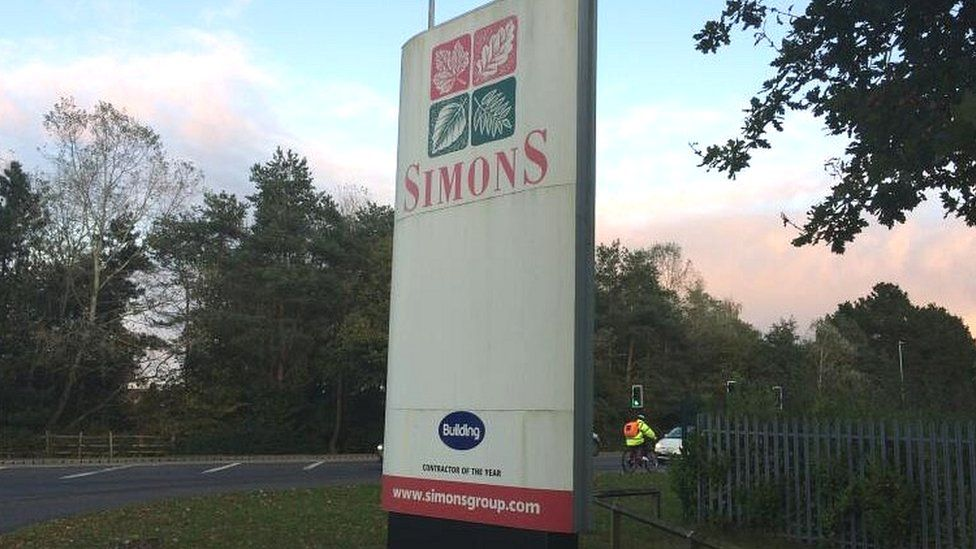 Simons head office in Lincoln