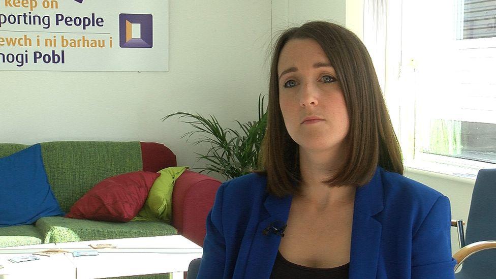 Katie Dalton, Cymorth Cymru