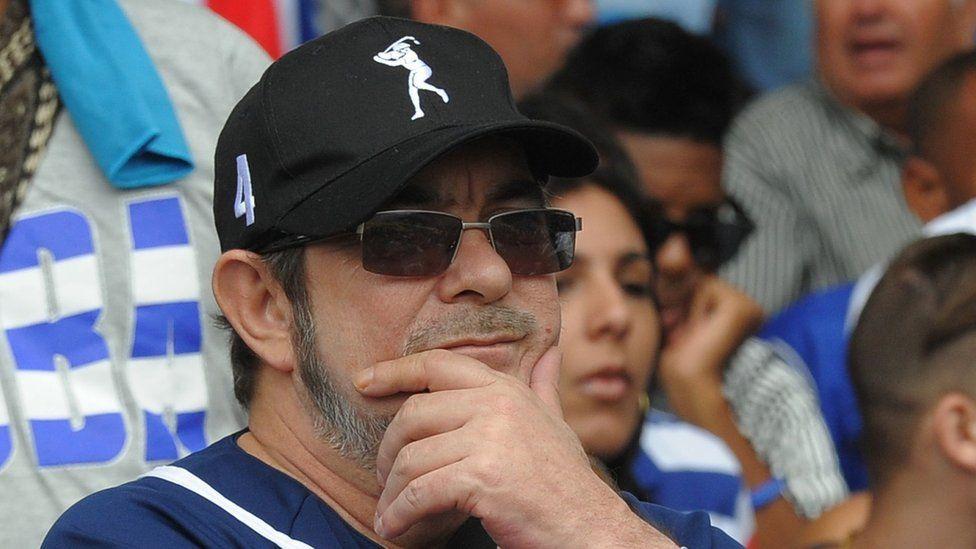 The head of Colombia's Farc guerrilla Timoleon Jimenez, aka Timochenko