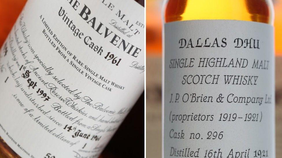 Single malt bottles up for auction in February 2021