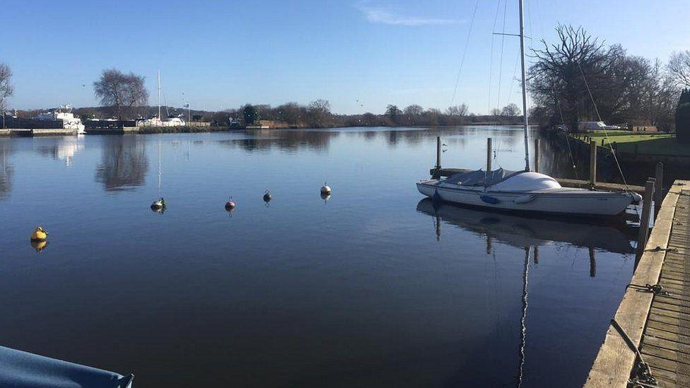 River Yare at Surlingham, Norfolk