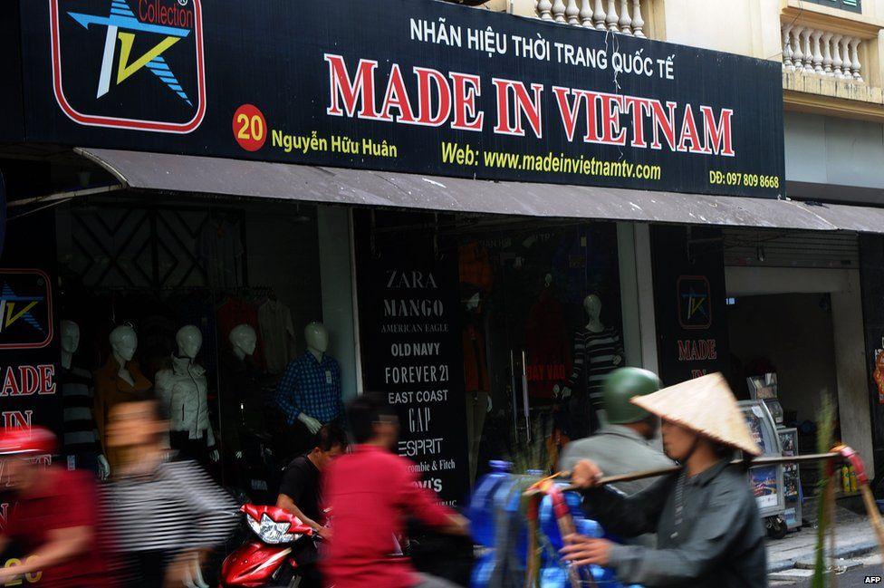Street in Hanoi - file pic