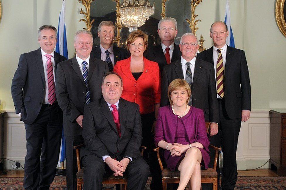 Scottish cabinet in 2011