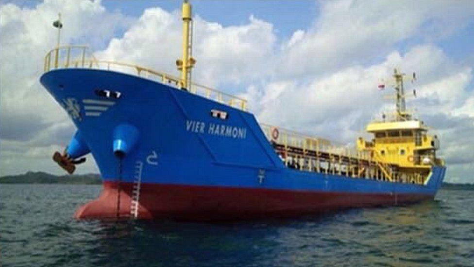 Missing Vier Harmoni ship