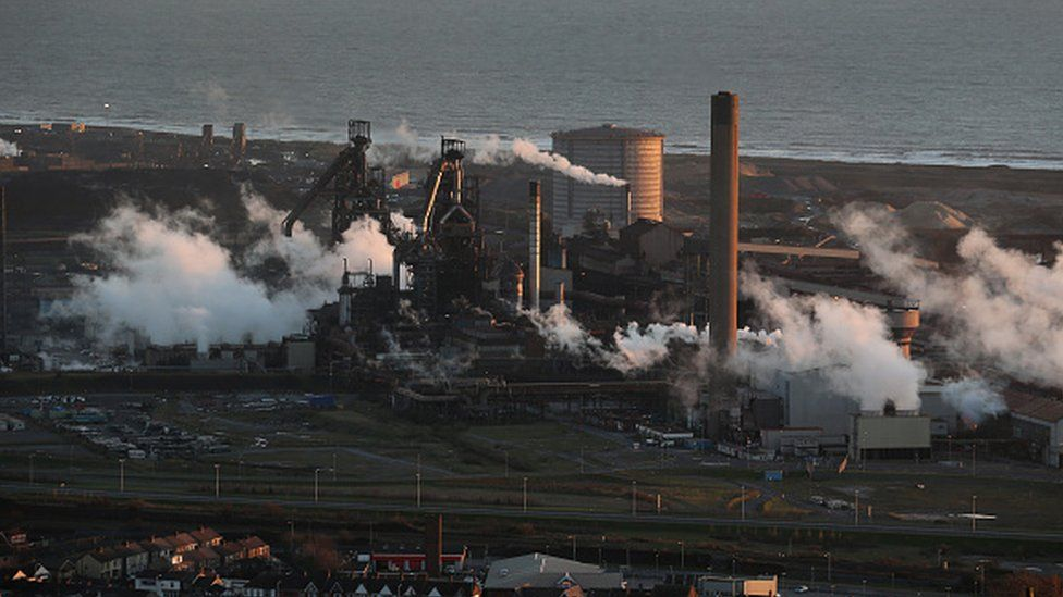 Tata Steel's Port Talbot steelworks
