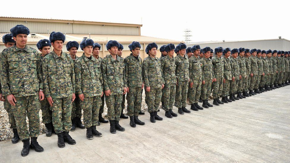 Members of the Afghan Public Protection Force (APPF)