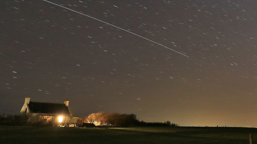 International Space Station passes over Orkney