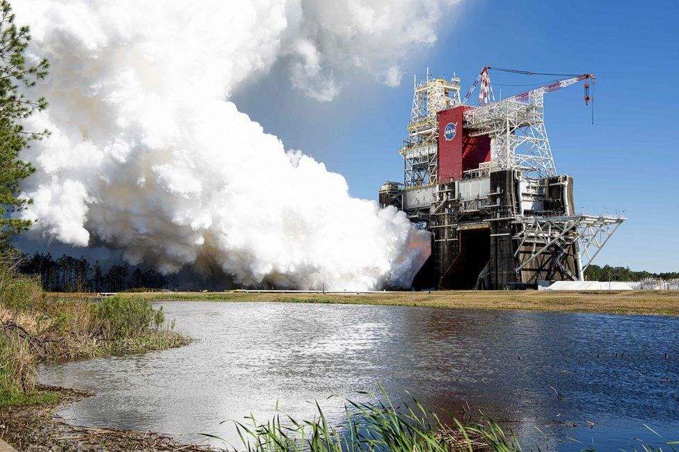 The SLS rocket's core stage completed a successful test on Thursday, clearing it for flight
