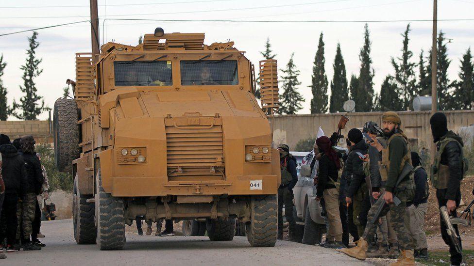 Turkish troops near Manbij, 28 Dec