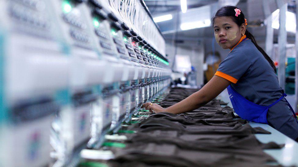 Garment factory in Bangkok