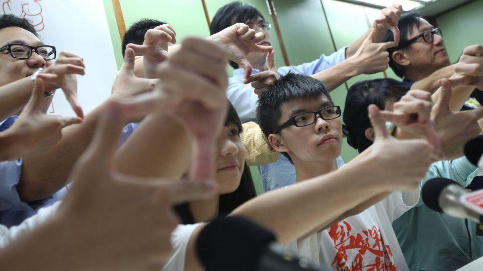 Joshua Wong in 2013