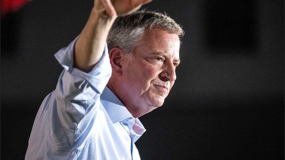 Bill de Blasio: New York mayor pulls out of US presidential race - BBC News