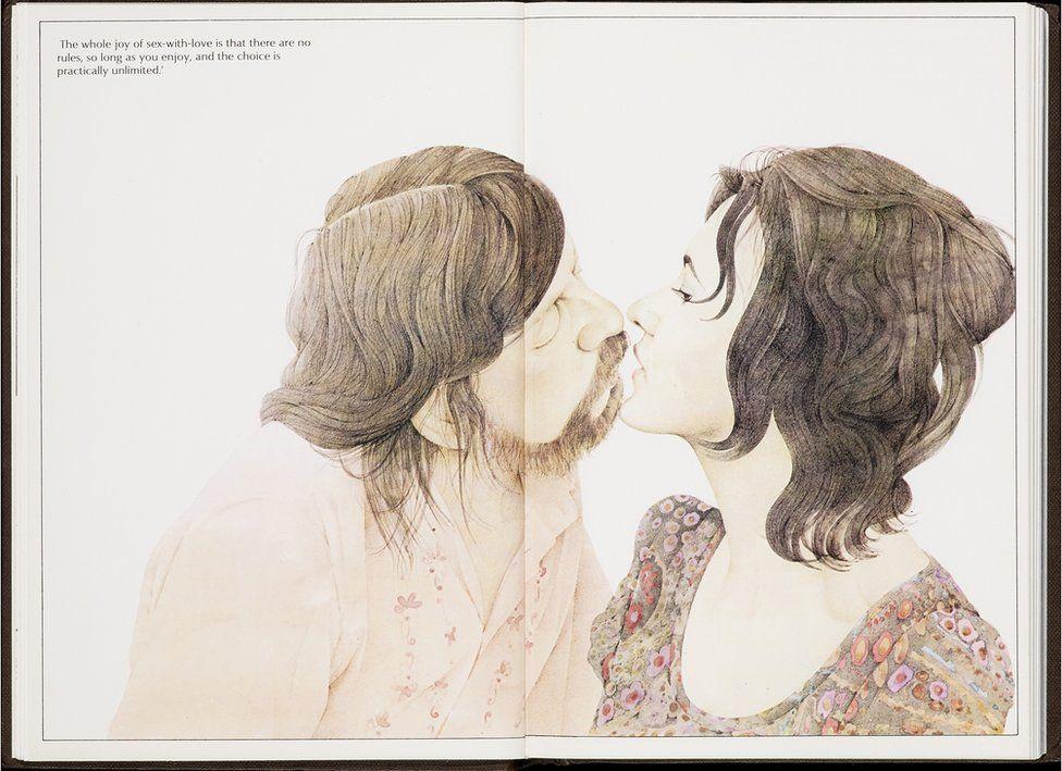 Licking woman armpit during sex