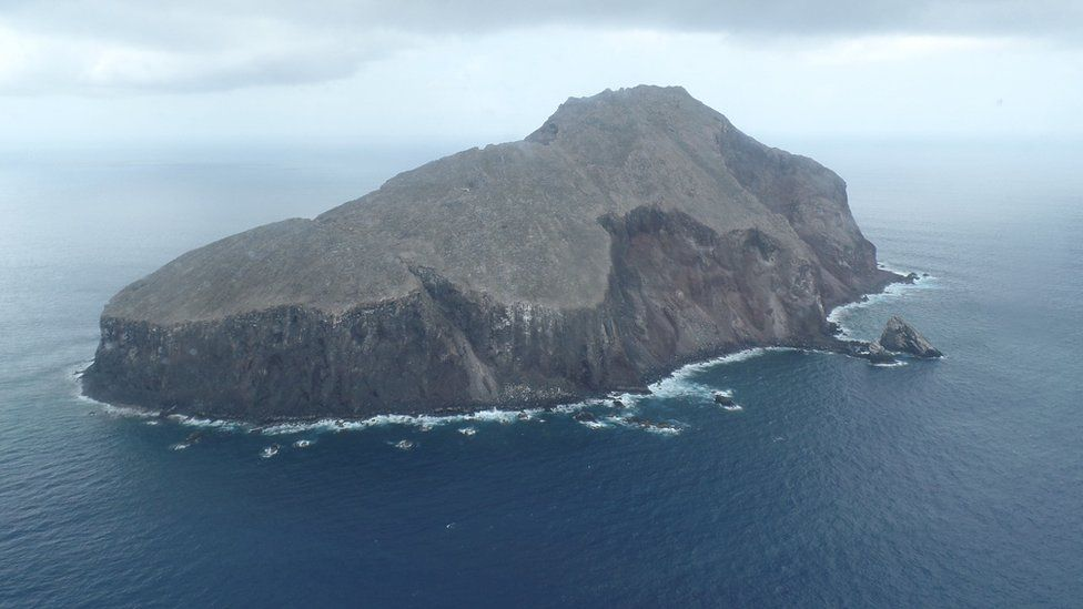 """The island of Redonda is known as """"the rock"""""""