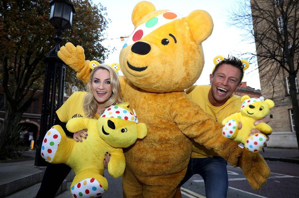Holly Hamilton, Pudsey and Stephen Clements