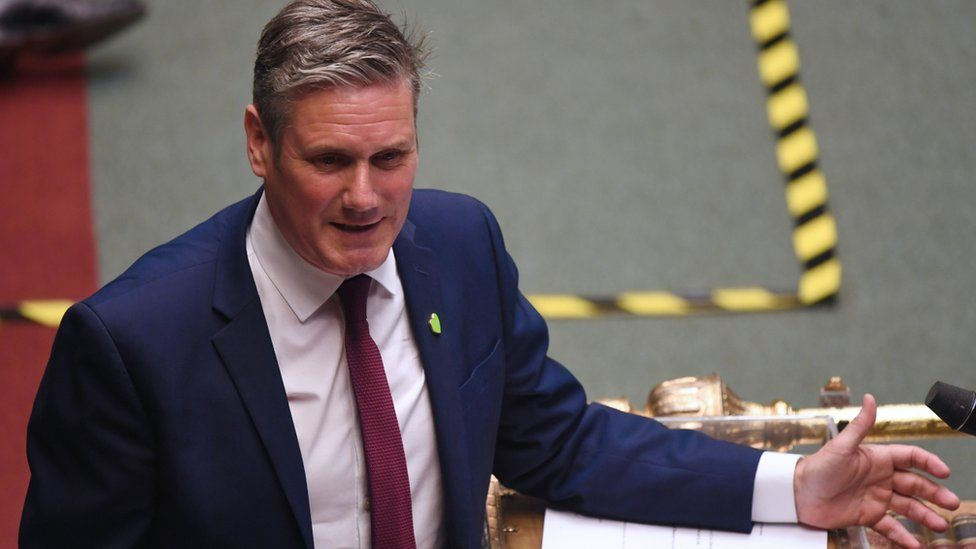 Keir Starmer in Parliament