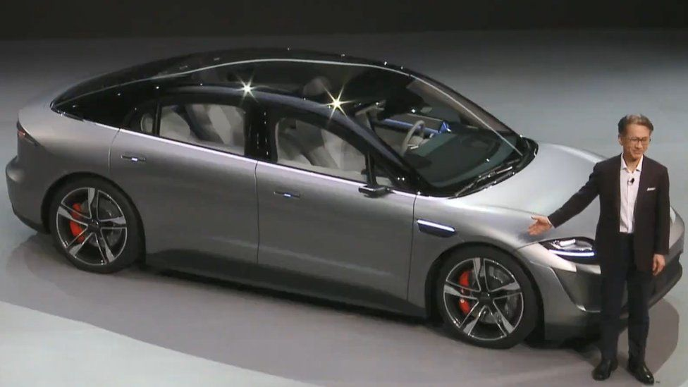 The Vision S concept car
