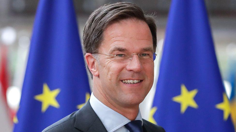 Dutch PM Mark Rutte in Brussels, 20 Jun 19