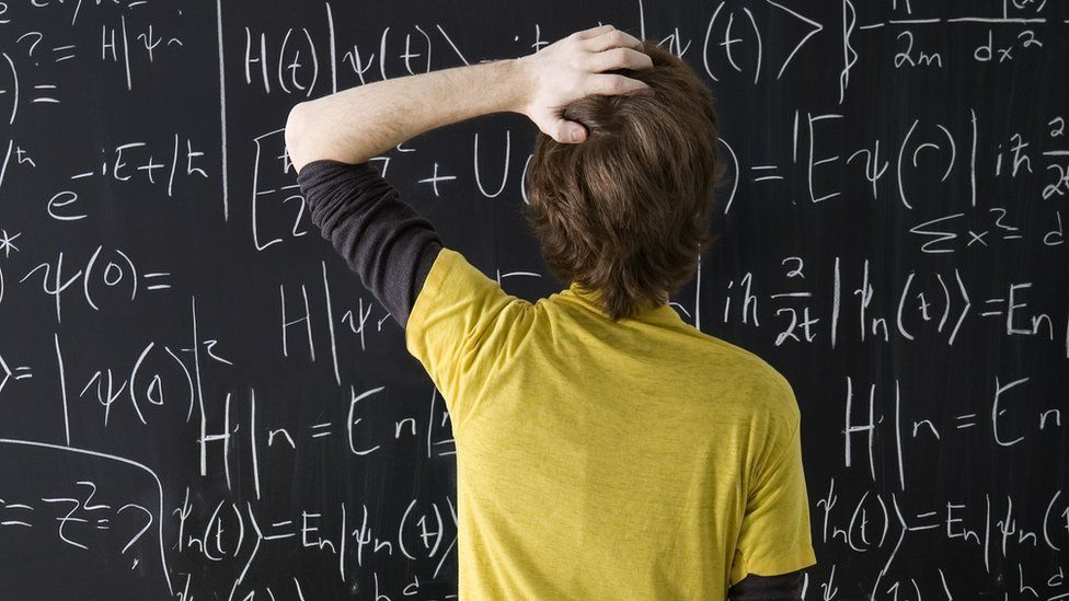Puzzled student