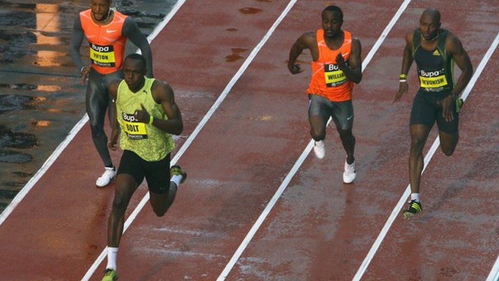 Usain Bolt at the 2009 Great City Games in Manchester