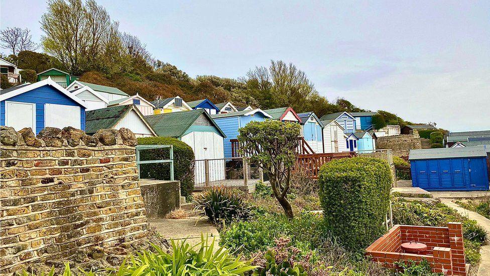 Hipkins beach huts