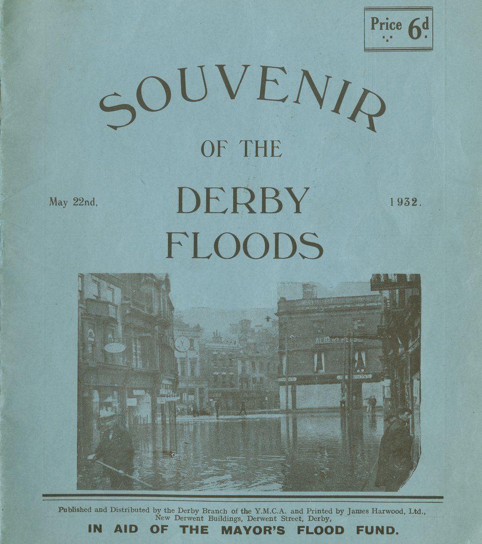 Souvenir of the Derby floods
