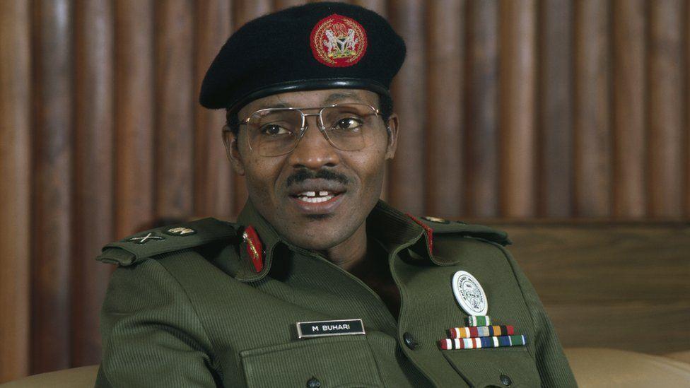 Gen Buhari as dictator of Nigeria