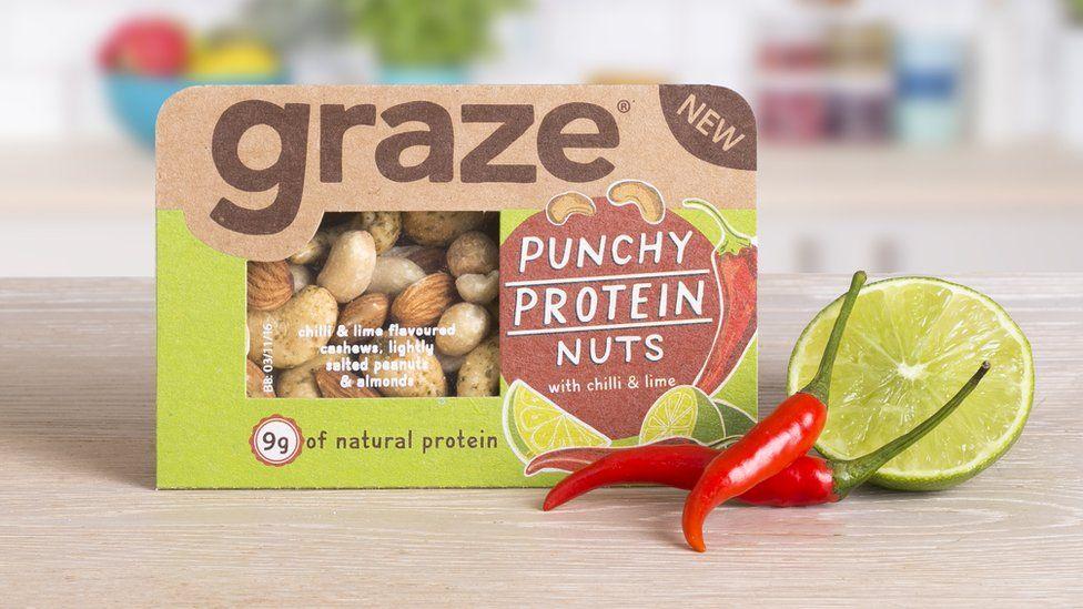 Graze nuts