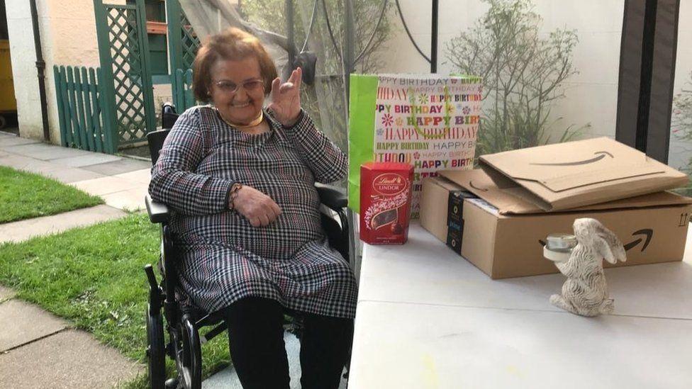 Frances celebrated her 76th birthday in September