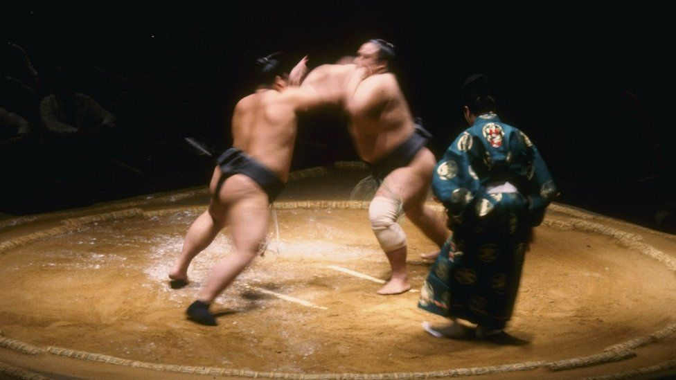 Sumo tournament in the Royal Albert Hall