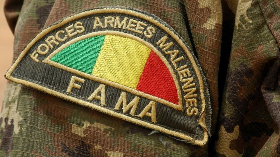 Mali army badge