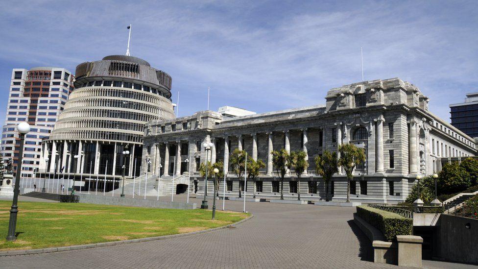 New Zealand's parliament building in Wellington
