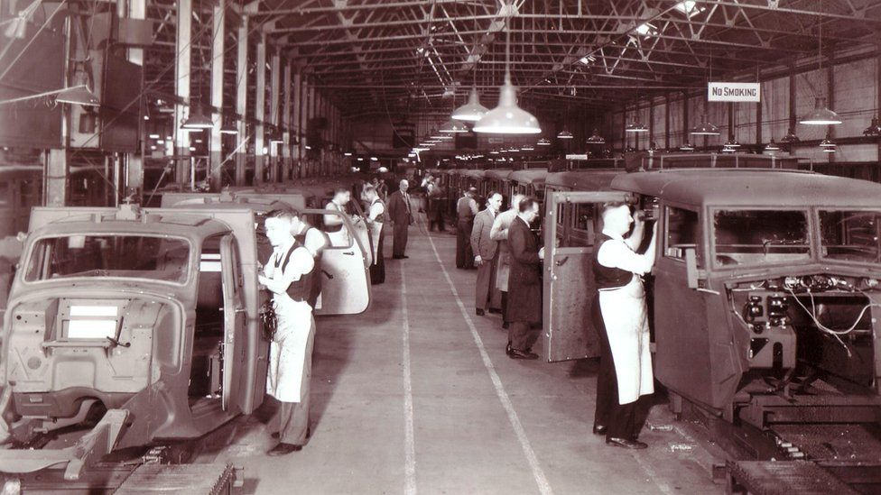 Humber production during World War Two