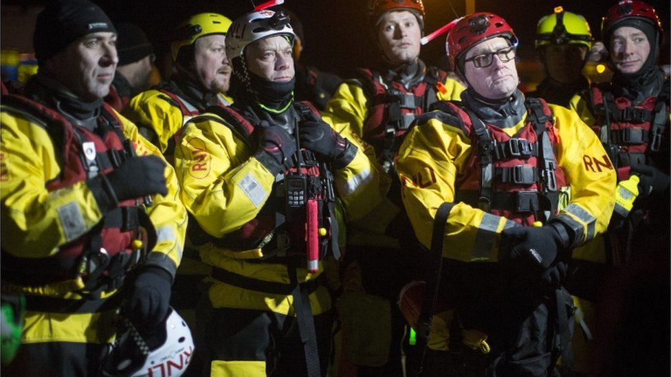 Rescue workers in Jaywick