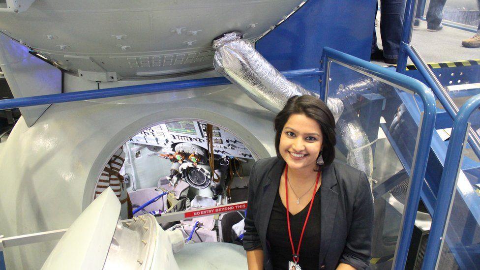 Dr Varsha Jain at NASA